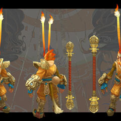 Radiant Wukong Model 2 (by Riot Artist <a href=