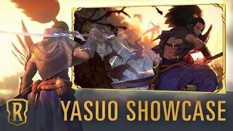 Yasuo Champion Showcase Gameplay - Legends of Runeterra