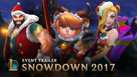 Be Your Best Santa Snowdown 2017 Event Trailer - League of Legends