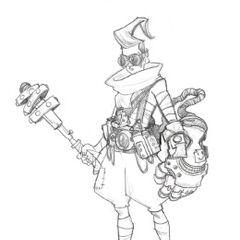 Ekko Concept 5 (by Riot Artist <a href=