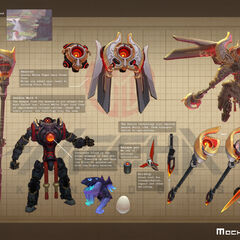 Mecha Kingdoms Jax Model 5 (by Riot Artist <a href=
