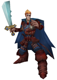 Rob Blackblade Render
