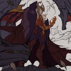 Dragon Master Swain Splash Concept 2 (by Riot Artist <a href=