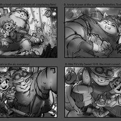 Annie-Versary Splash Concept 1 (by Riot Artist <a href=