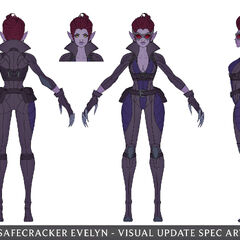 Safecracker Evelynn Update Concept 4 (by Riot Artist <a href=