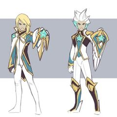 Star Guardian Ezreal Concept 3 (by Riot Artist <a href=
