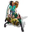 Jinx Firecracker (Emerald)