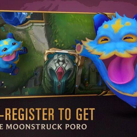 Legends of Runeterra Moonstruck Poro Promo