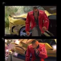 Heartseeker Lucian Splash Concept 2 (by Riot Artist <a href=