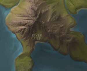 Pilt River map