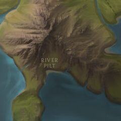 Pilt River Map
