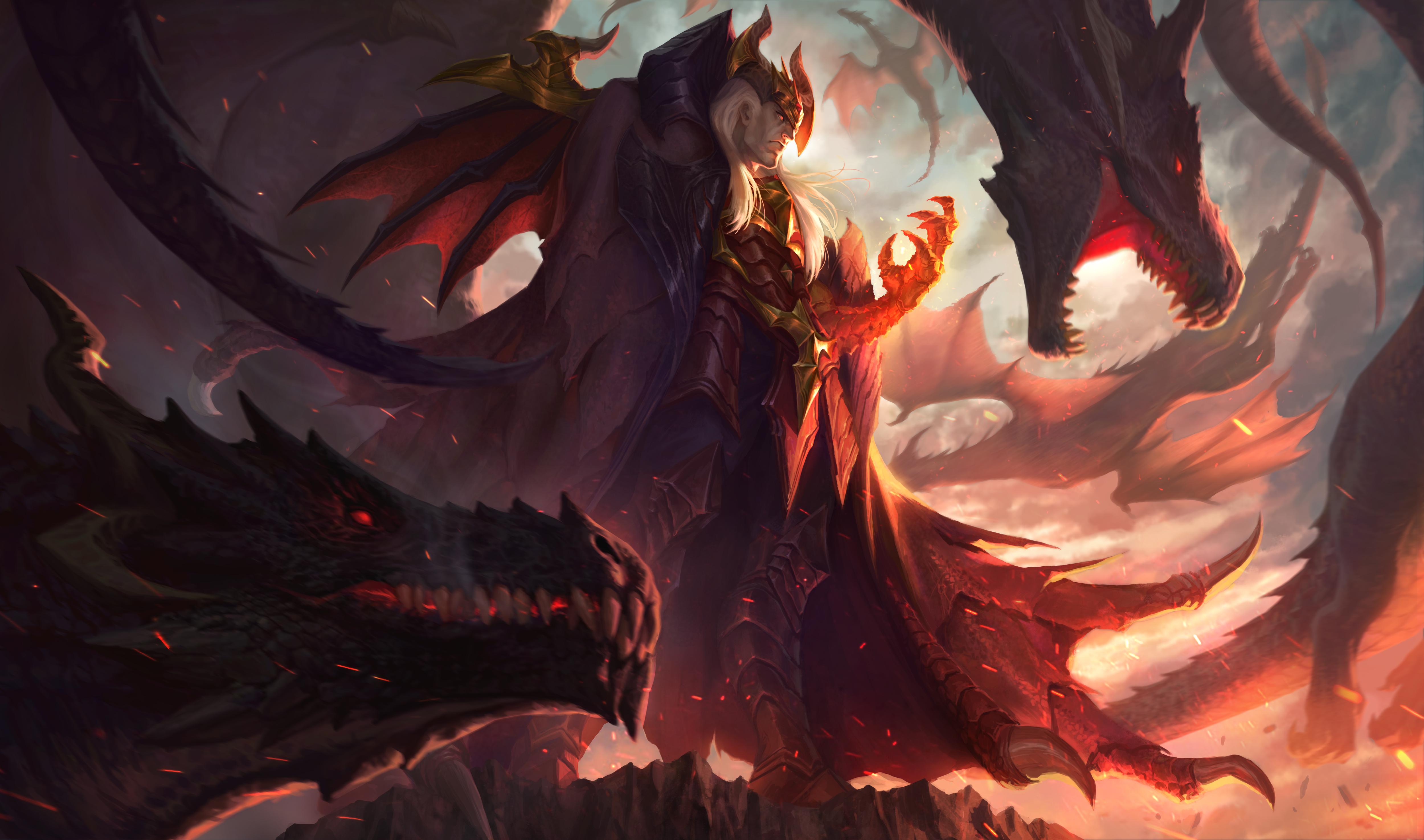 Swain DragonMasterSkin HD