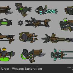 Urgot Update Concept 14 (by Riot Artist <a href=