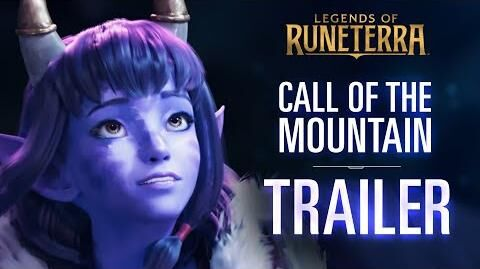 Call of the Mountain - Launch Trailer New Expansion & Region Legends of Runeterra