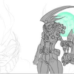 Ekko Concept 10 (by Riot Artist <a href=