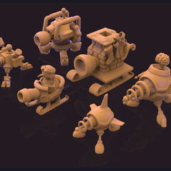 Snowmerdinger Update Model 3 (by Riot Artists <a rel=
