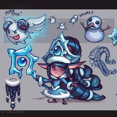 Winter Wonder Lulu Concept (by Riot Artist <a href=