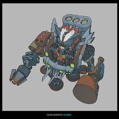 Badlands Baron Rumble Concept (by Riot Artist <a href=