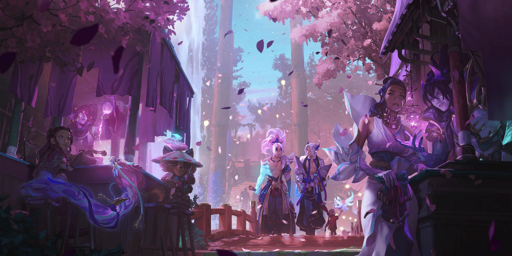 Spirit Blossom 2020 LoR Background 02