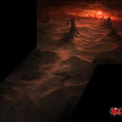 Shurima landscape 1 (by Riot Artist <a href=