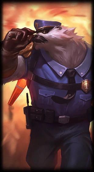 Volibear Captain Volibear L