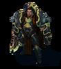 Darius Original (Black Iron)