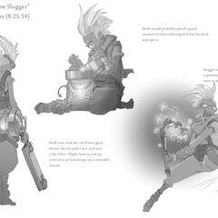 Ekko Concept 3 (by Riot Artist <a href=