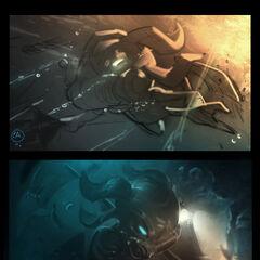 Omega Squad Fizz Splash Concept (by Riot Artist <a href=