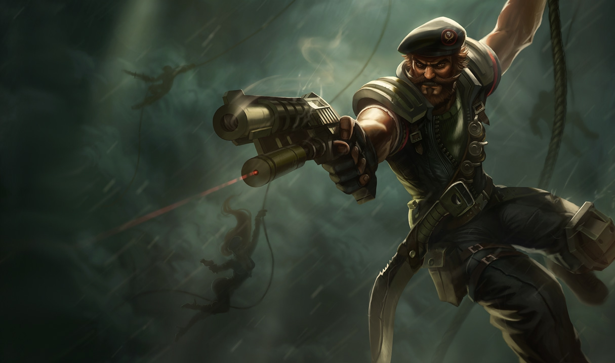 Gangplank Special Forces Gangplank S