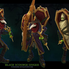 Black Scourge Singed Model (by Riot Artist <a href=
