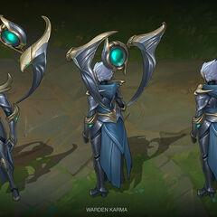 Warden Karma Concept (by Riot Artist <a href=