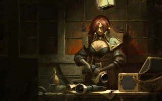 Miss Fortune Käpt'n Login Screen still