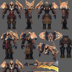 Prestige Mecha Kingdoms Garen Model