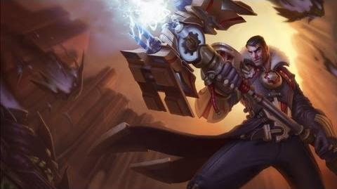 League of Legends - Focus Artistique Jayce