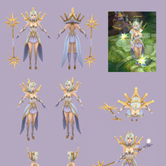 Elementalist Lux Model 2 (by Riot Artist <a href=