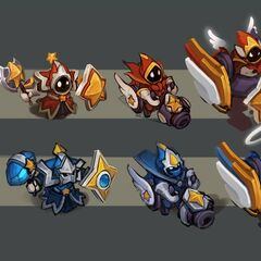 Star Guardian Minions Concept (by Riot Artist <a href=
