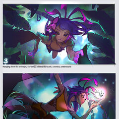 Neeko Splash Concept 2 (by Riot Artist <a href=