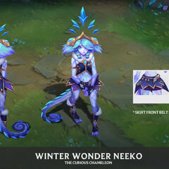 Winter Wonder Neeko Concept 1 (by Riot Artist <a href=