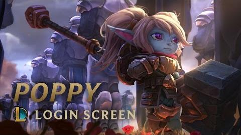 Poppy, Keeper of the Hammer - Login Screen