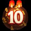 10 Year Chocolate Orb