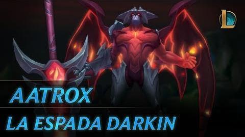 Aatrox La Espada Darkin Tráiler de campeón - League of Legends