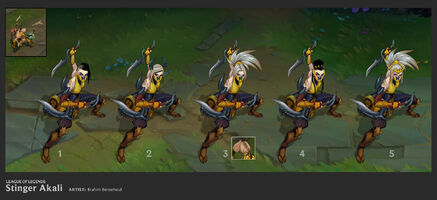 Akali Update Stinger concept 01