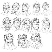 Darius Gesichtsausdrücke Exploration