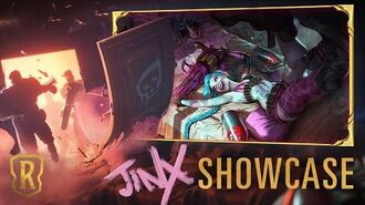 Jinx Champion Showcase Gameplay - Legends of Runeterra