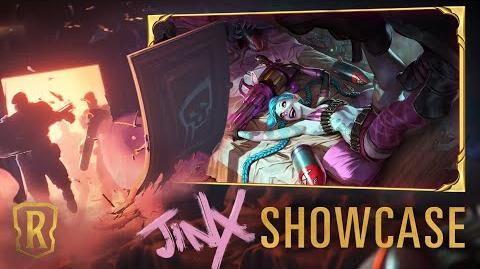 Jinx Champion Showcase Gameplay - Legends of Runeterra