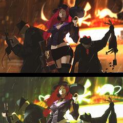 Crime City Miss Fortune Update Splash Concept 2 (by Riot Artist <a href=