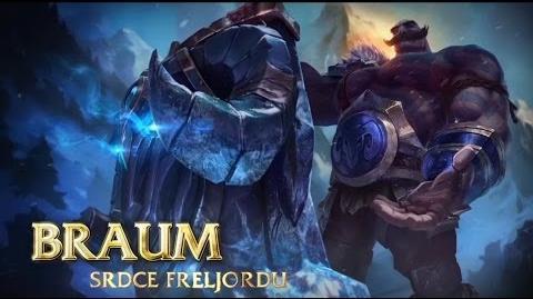 Představení šampiona Braum, srdce Freljordu