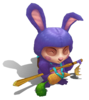 Teemo Cottontail (Amethyst)