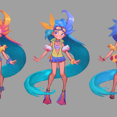 Pool Party Zoe Concept 2 (by Riot Artist <a href=