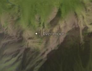 Evenmoor map